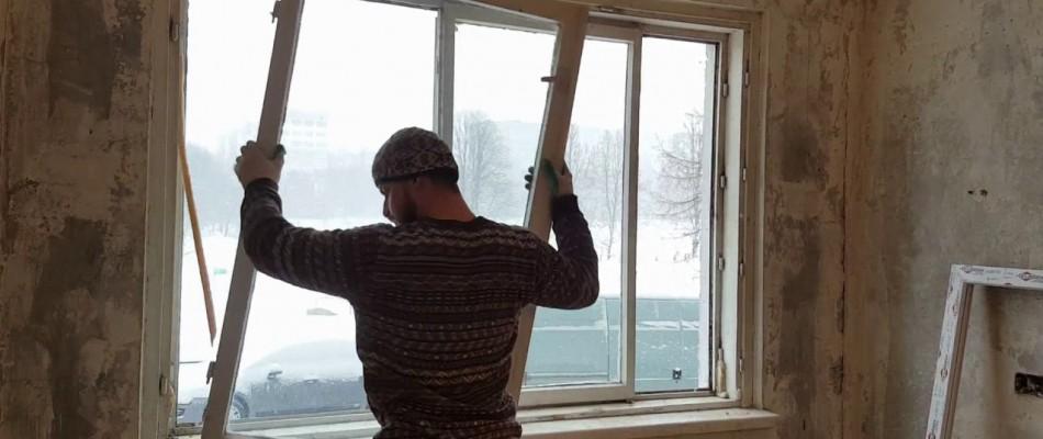 Демонтаж вікон, демонтаж дверей