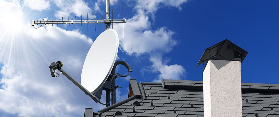 Установка супутникового ТБ